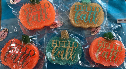 Hello Fall pumpkin Car Freshie - Mavictoria Designs Hot Press Express