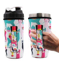 Lit Handlers 24-30oz tumbler or blender bottle Koozie Holders - Mavictoria Designs Hot Press Express