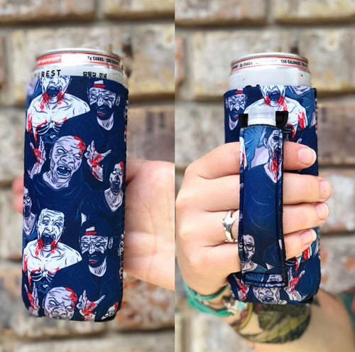 Lit Handler Zombie Koozie - Mavictoria Designs Hot Press Express