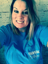 Paramedic Wifey pocket tee paramedic wife pocket tshirt. Supportive wife. Custom shirt. Great gift! - Mavictoria Designs Hot Press Express