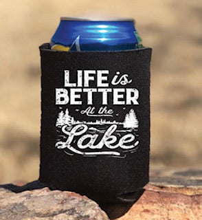 Life Is Better At The Lake Can Koozie - Mavictoria Designs Hot Press Express