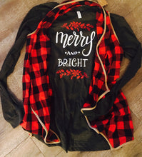 Merry and bright long sleeve bella canvas shirts. Christmas shirts 2 designs - Mavictoria Designs Hot Press Express