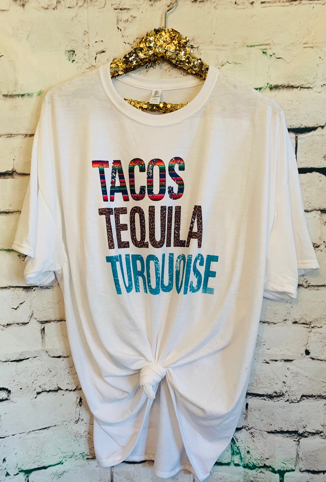 Tacos Tequila Turquoise - Mavictoria Designs Hot Press Express