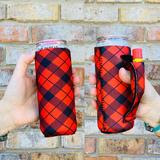 Load image into Gallery viewer, Lit Handlers Red Plaid - Mavictoria Designs Hot Press Express