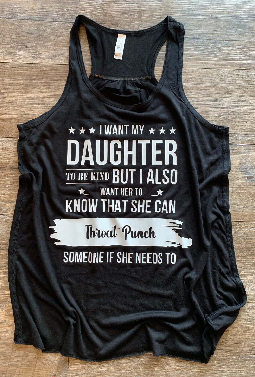 I want my daughter to be kind but I also want her to know that she can throat punch someone if she needs to - Mavictoria Designs Hot Press Express