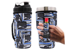 Load image into Gallery viewer, Lit Handlers Koozie Holders with Handle and Chapstick/Lighter Holder - Mavictoria Designs Hot Press Express