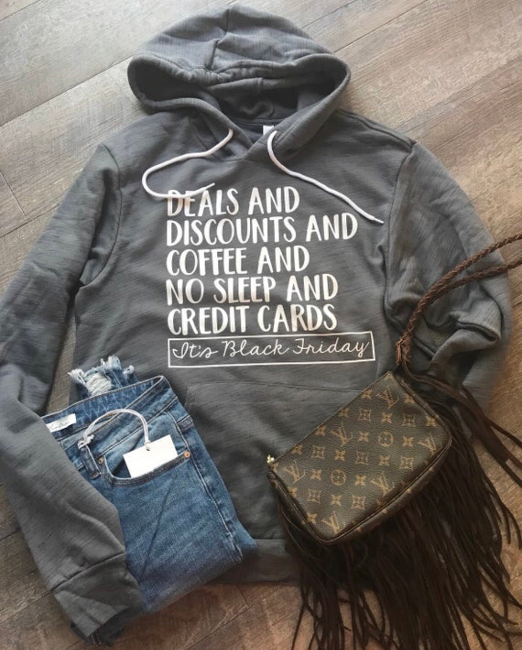Deals and discounts and coffee and no sleep and credit cards its Black Friday! Hoodie marbled gray bella canvas unisex custom hoodie - Mavictoria Designs Hot Press Express