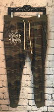 Mother hustler camo camouflage womens fit joggers funny mom life joggers sweats sweatpants. Great gift. Funny pants! - Mavictoria Designs Hot Press Express