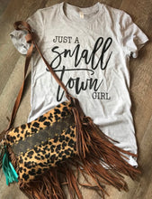 Just a small town girl unisex fit bella canvas tee - Mavictoria Designs Hot Press Express