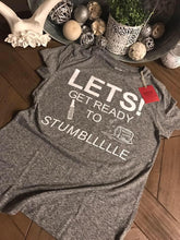 Let's Get Ready To Stumble tank tops, tee, mens shirts - Mavictoria Designs Hot Press Express