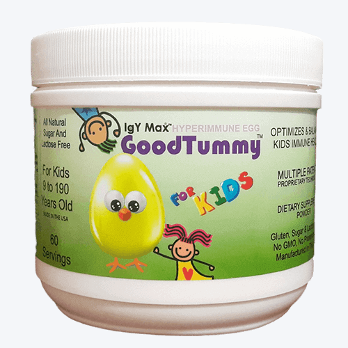 RevGenetics: GoodTummy 60 Servings - IgY Hyperimmune Egg