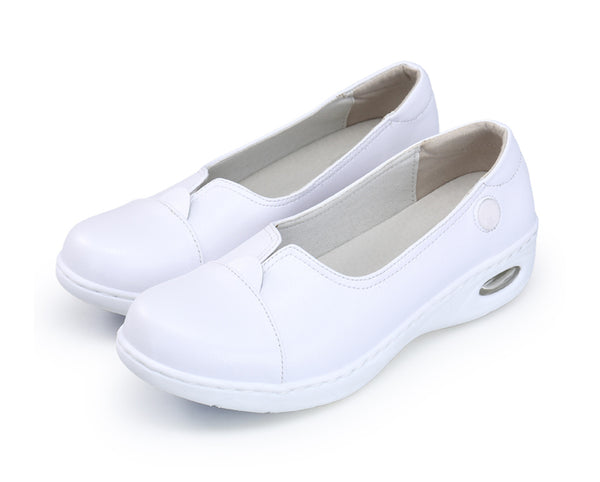 Woman White Nurse Shoes | Sassy And Fancy
