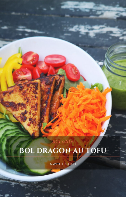 BOL DRAGON AU TOFU SWEET CHILI
