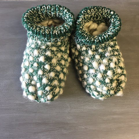 Thrummed Slippers