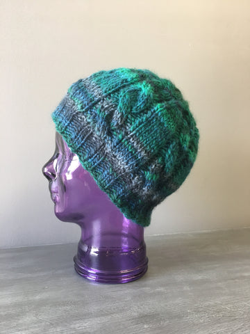 Azetca Cabled Toque