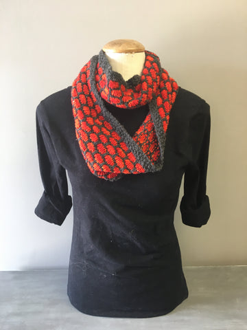 Glowing Embers Infinity Scarf
