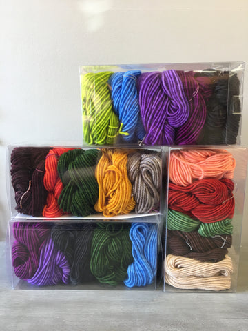 Dia Worsted Shawl Kit