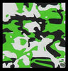 Hydro Turf Flat Style Lime Green Camo Mat