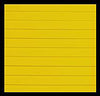 Hydro Turf Cut Groove Yellow Mat