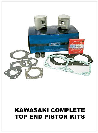 Kawasaki Complete Top End Piston Kits