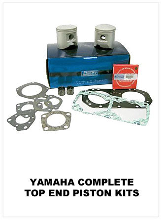 Yamaha Complete Top End Piston Kits