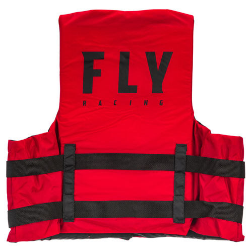 Fly Racing Nylon Life Vest - Red