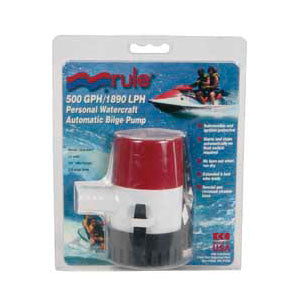 Rule Bilge Pump 500 GPH - Automatic