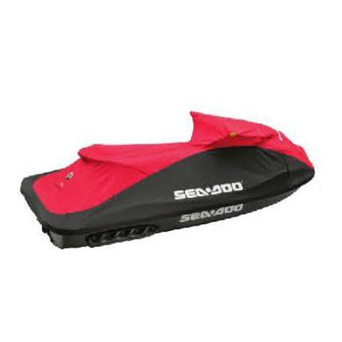 Sea-Doo GTi '06-10 Cover - Mortar Grey/Regal Red