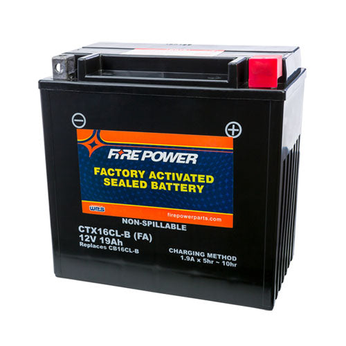 Factory Activated Sealed Battery