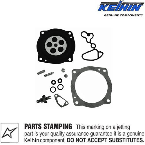 Genuine Keihin 28mm Carburetor Diaphragm & Gasket Kit