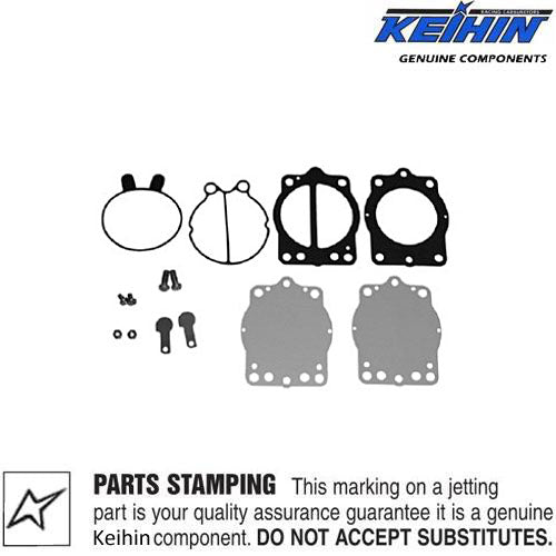 Genuine Keihin CDKII Fuel Pump Rebuild Kit