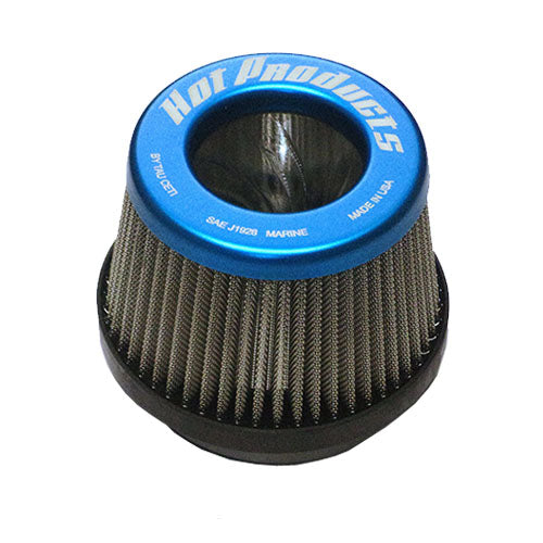 "Hot Products Tau Ceti 2.5"" Flame Arrestor - Blue"