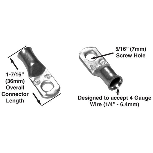 Battery Cable Connector 2 Piece Set