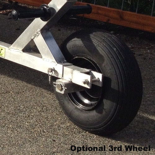 Stomper F6 6-Wheel Beach Dolly