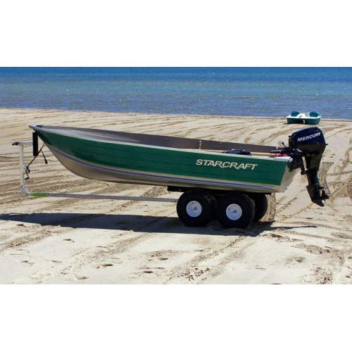 Aluminum, Fiberglass & Inflatable Boat 4-Wheel Beach Dolly