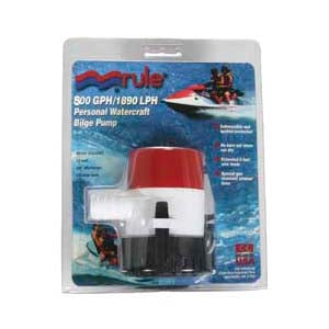 Rule Bilge Pump 800 GPH - Manual