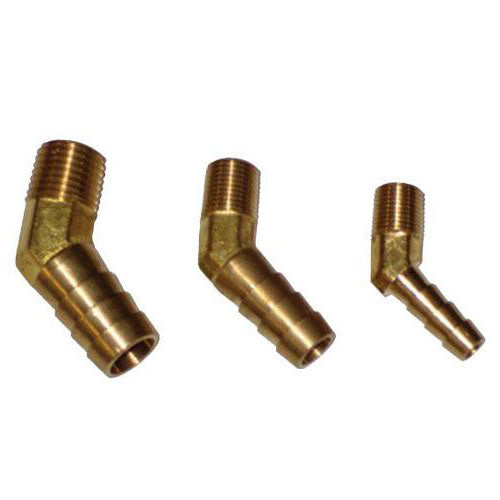 Brass 45 Degree Hose Fitting