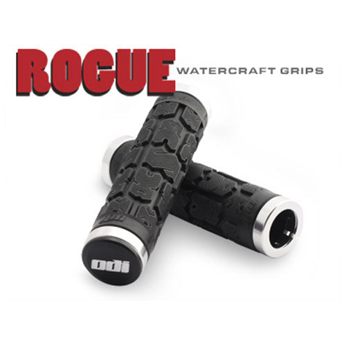 ODI Rogue Lock-On Watercraft Grips 130mm - No Flange