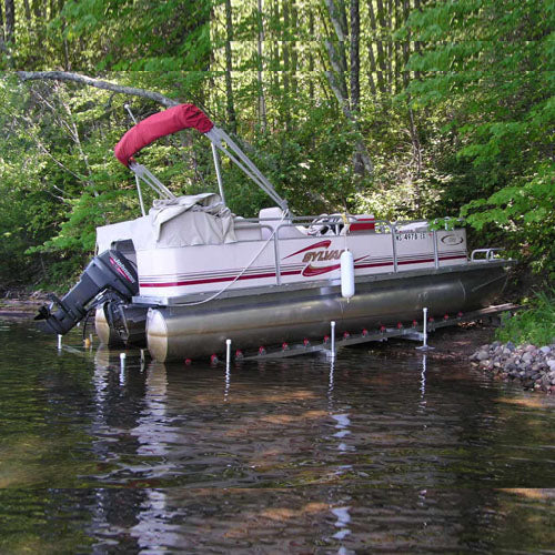 Roll-n-Go Pontoon Boat Shore Docking System