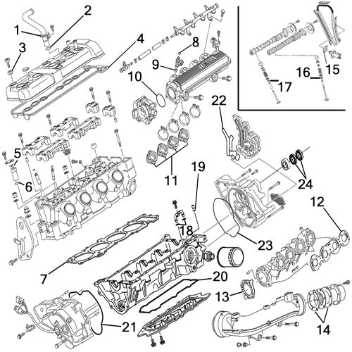 Yamaha Waverunner Individual Gaskets — Atlantic Jet Sports