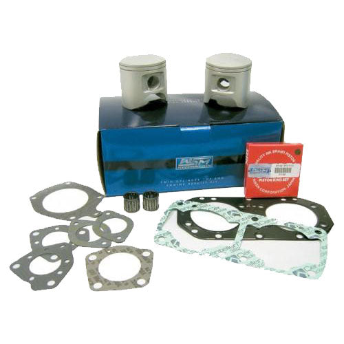 Yamaha 701 (62T) - WSM Original Series Piston Kit - 2-Stroke