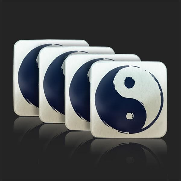 Yin Yang Water Restructuring Coaster 4 - Piece Set