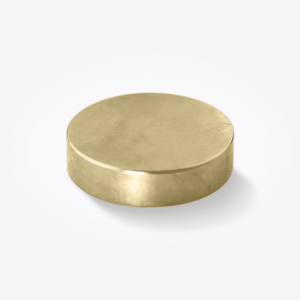 Gold Plated Large Therapeutic Magnets (1 Pc)