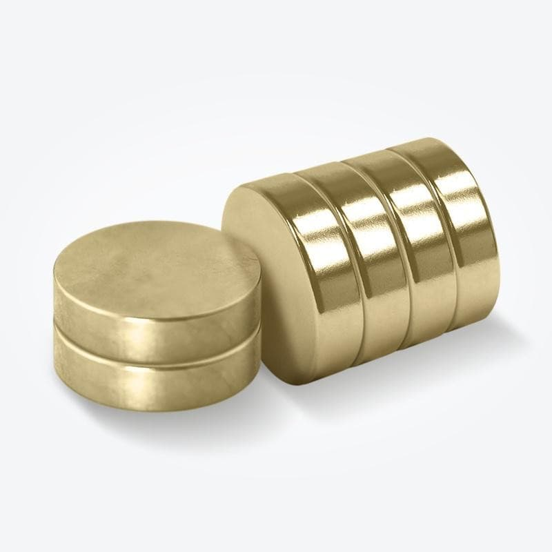 Gold Plated Large Therapeutic Magnets