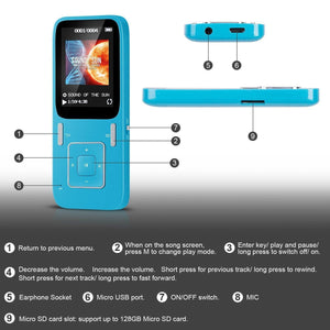 MP3 Player - MP3 Player With Pre-Loaded Frequencies
