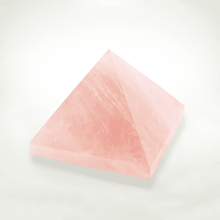 Pyramids - Light Stream™ Infused Rose Quartz Pyramid