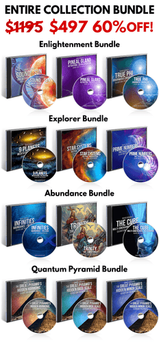 Quantum Frequencies - Entire 122 Frequency Collection - 60% OFF - 12 Physical CDs
