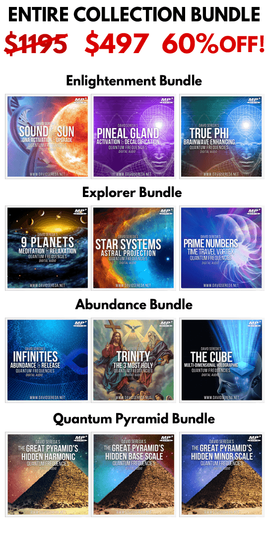 Entire 122 Frequency Collection - BUNDLE DISCOUNT 60% OFF