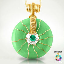 Quantum Pendants - Health Emerald Super Pendant