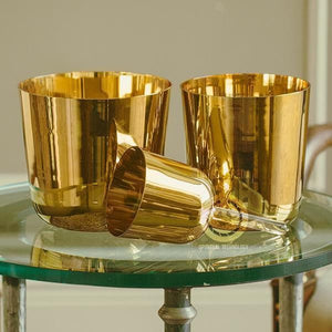 SInging Bowls - Light Stream™ 24K Gold Pyramid Harmonics Crystal Bowls Set